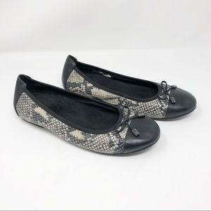 "Vionic ""Minna"" Leather Ballet Slipper Flat-10"
